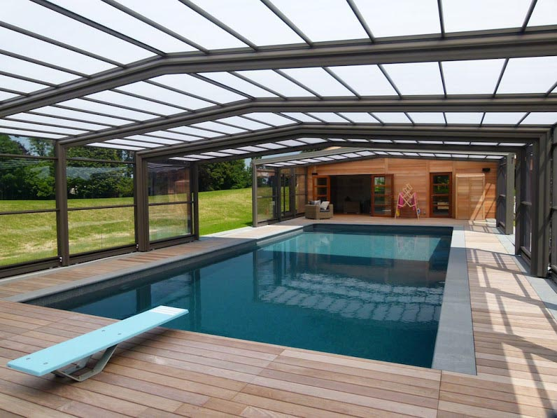 ADH PAYSAGES : Abris, carports, poolhouse