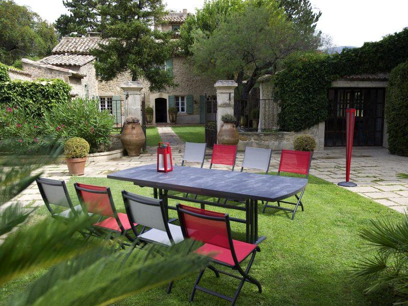 Les Jardins, Partanaire mobilier ADH Paysage