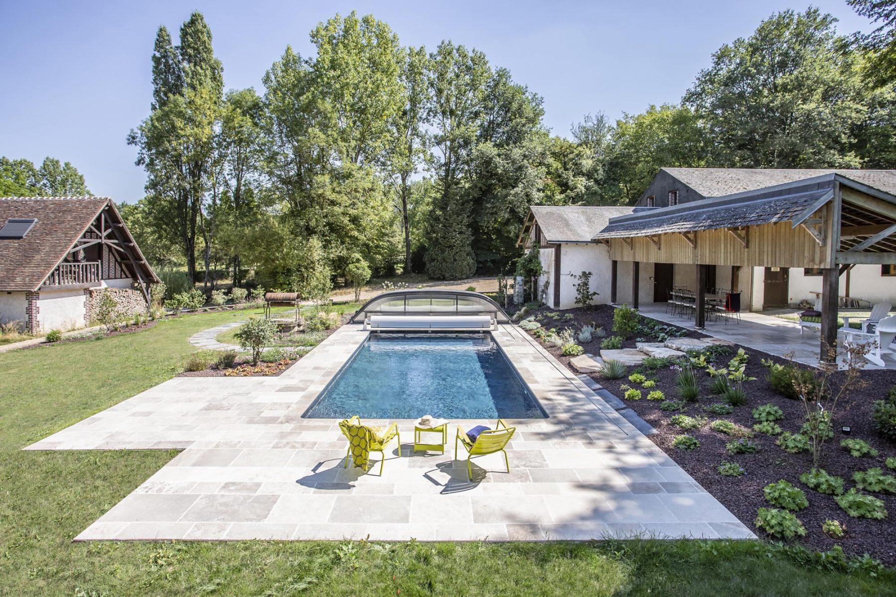 ADH Paysage, projet de piscine M Angeniol