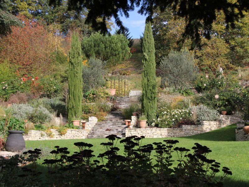 jardin saison automne