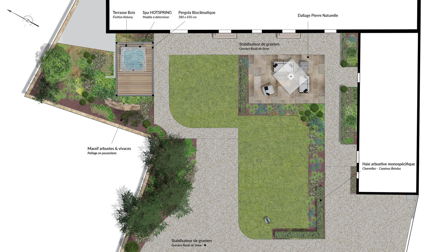 Bureau D Étude Paysage le bureau d'études de adh paysages pour un jardin qui vous