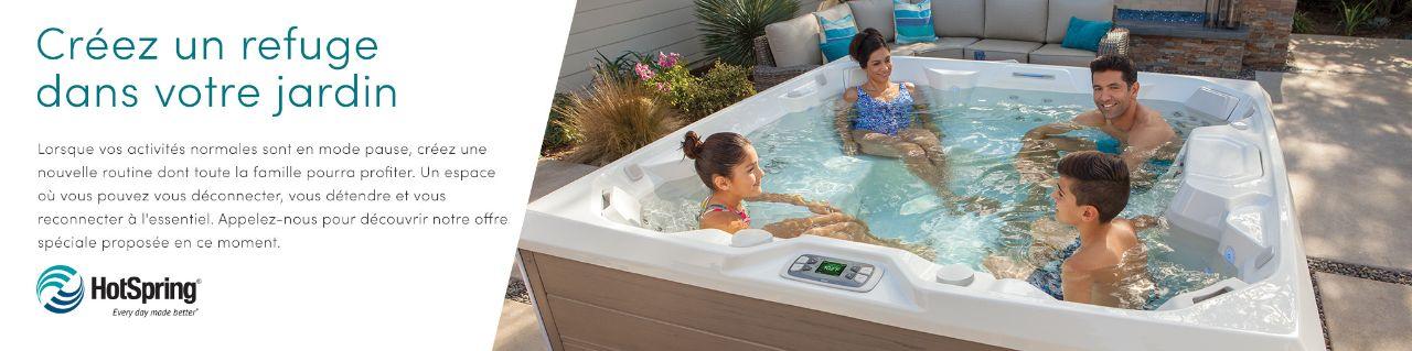 banniere spa hotspring créer un refuge pour votre jardin